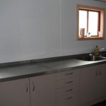 Updated kitchen for catering