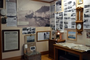 Local historical displays