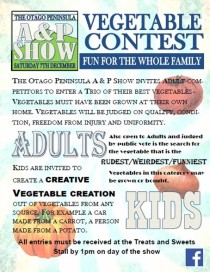 Vegetable contest