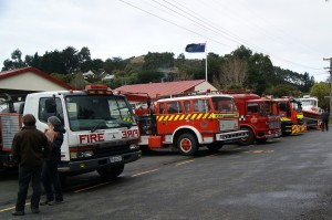 The Hereweka Street Fire Station in Portobello