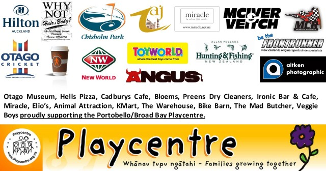 Play Centre Sponsors
