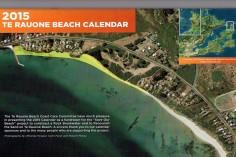 Te Rauone Beach Calendar