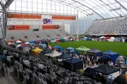 Tent City at the Stadium