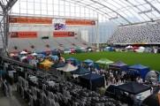 Tent City at the Stadium