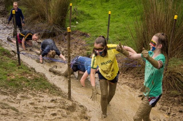Mud galore