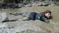 Lounging in Mud